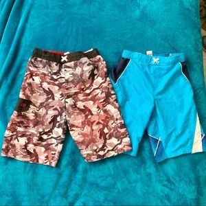 OP Boys Swimming Trunks size large (10-12)
